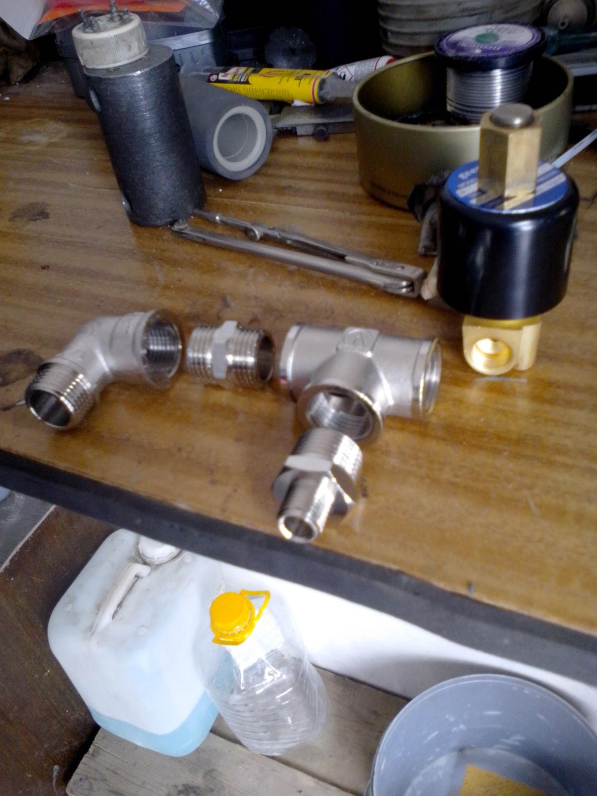 Разгрузочный клапан компрессора