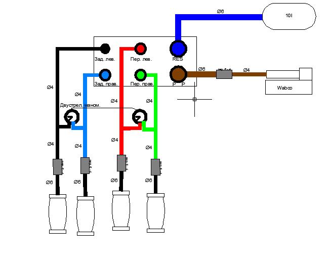 Электрическая схема, с которой